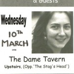 Joan Walsh Event @ The Dame Tavern 1998