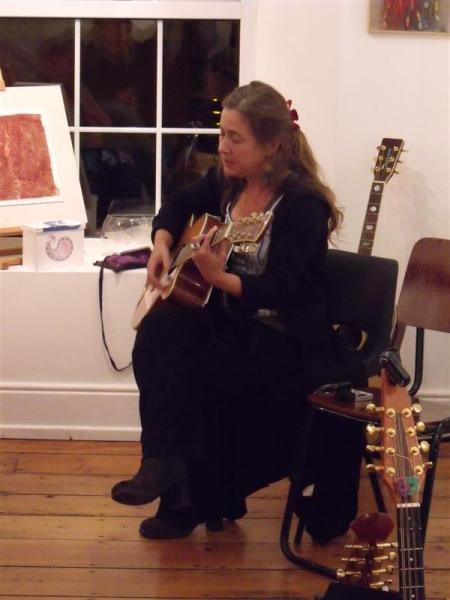 Joan Walsh Performance @ Culture Night, Solas 2010