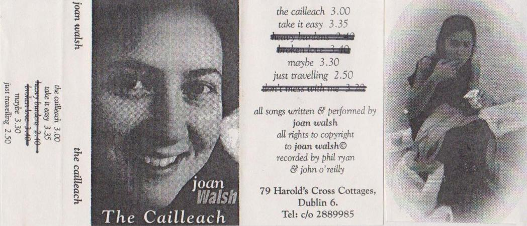 Joan Walsh The Cailleach Cassette Cover 1995