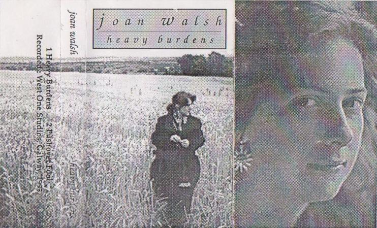Joan Walsh Heavy Burdens Cassette Cover 1994