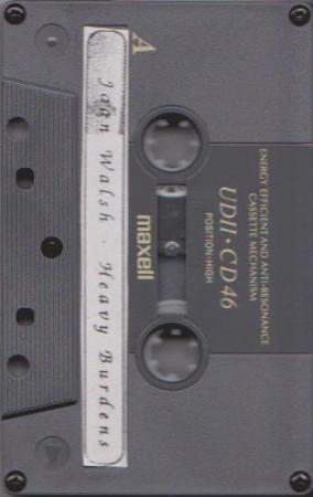 Joan Walsh Heavy Burdens Cassette 1994