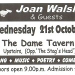 Joan Walsh Event @ The Dame Tavern