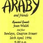 Joan Walsh @ Bewleys 1996