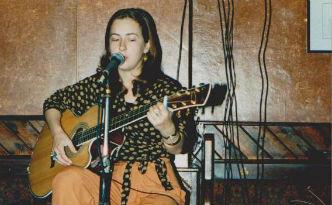 Joan Walsh at the Dame Tavern 1995